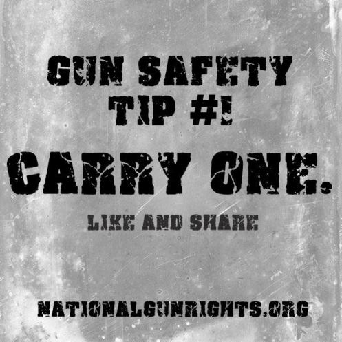Gun Safety Tip