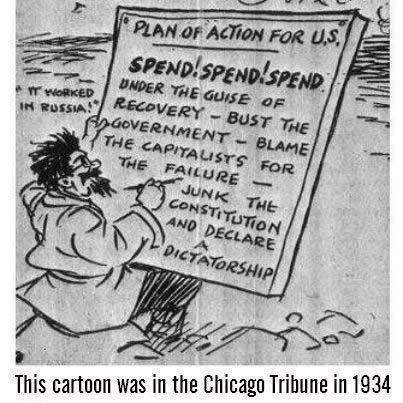This was in the Chicago Tribune in 1934
