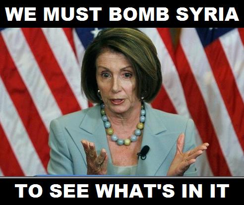 Pelosi Bombs