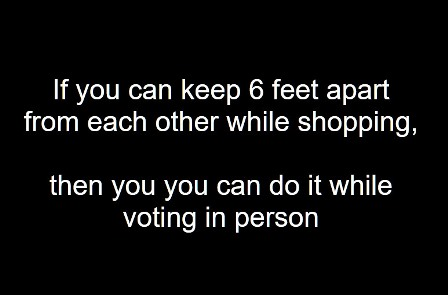 keep 6 ft apart